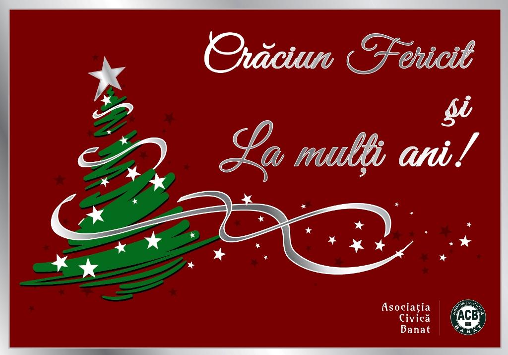 Crăciun Fericit şi La mulţi ani!